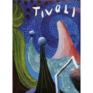 David Hockney Tivoli Amusement Park Poster For Sale
