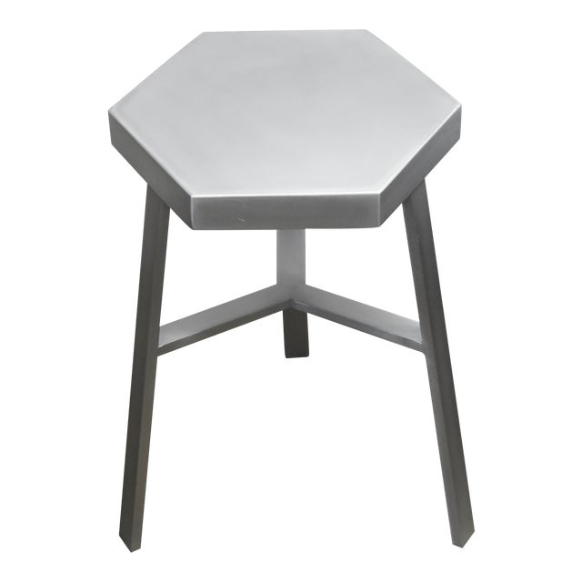 Oblik Aluminum Low Stool For Sale