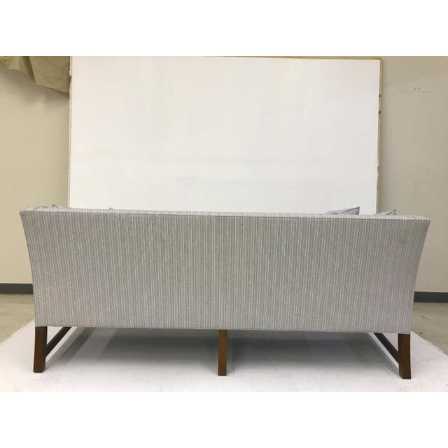 Transitional Century Furniture Gallery Sofa For Sale - Image 3 of 5