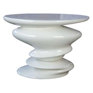 Contemporary Roche Bobie Cédric Ragot Sismic White End Table Preview