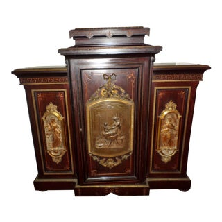 19th Century French Alexander Roux Credenza For Sale