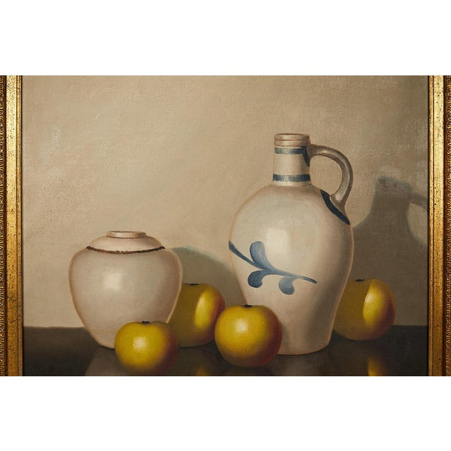 Pair of 19th Century Still Life Oil Paintings For Sale - Image 9 of 13