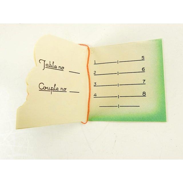Vintage Santa Claus Bridge Tally Cards - Set of 3 For Sale - Image 4 of 5