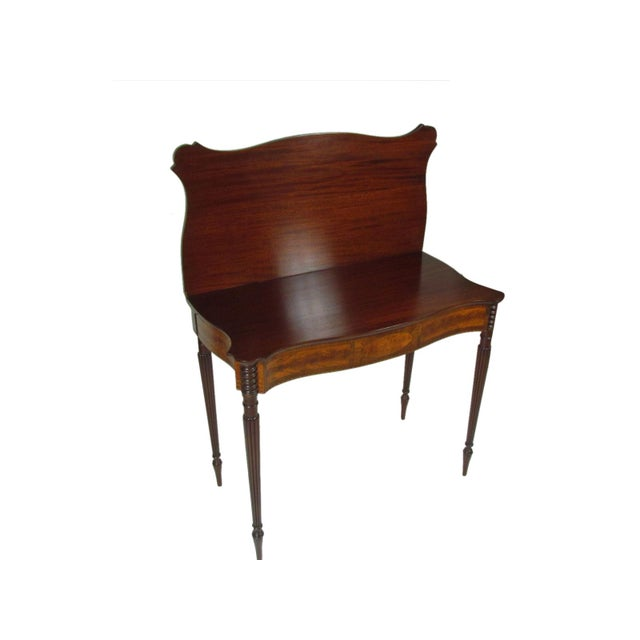 Late 19th Century Federal-Style Card Tables - a Pair For Sale - Image 10 of 13