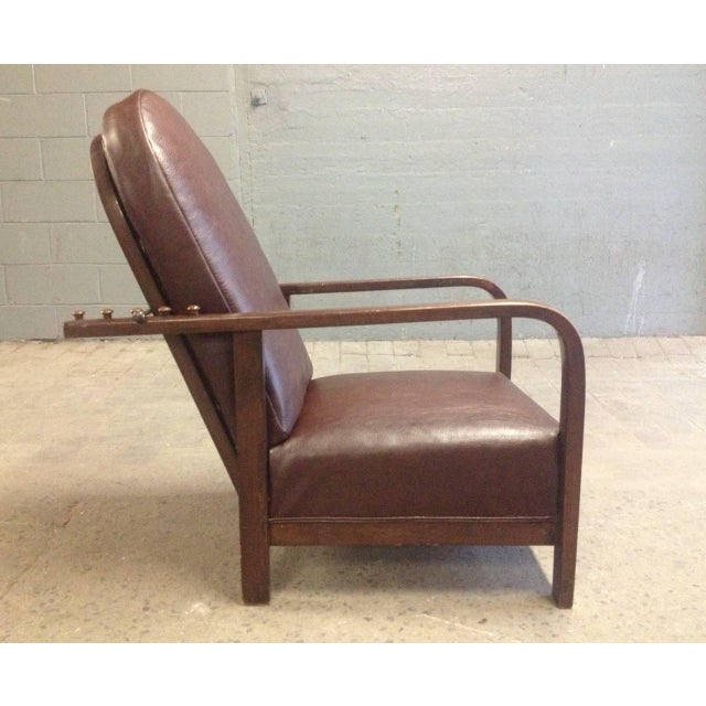 Early 20th Century Reclining Chair by Josef Hoffmann For Sale - Image 5 of 5