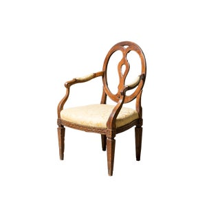 Early 19th Century Antique Greek Key Chair For Sale