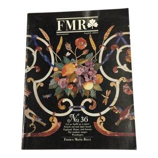 1989 FMR No. 36 Franco Maria Ricci Art Magazine For Sale