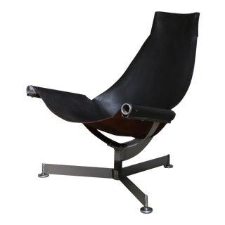 Max Gottschalk Black Lounge Chair