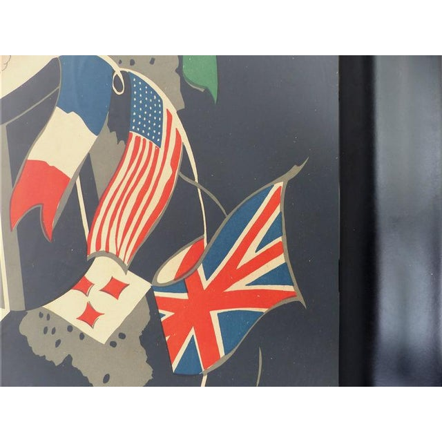 French Art Deco Poster by George Conde For Sale - Image 5 of 8