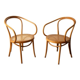 Vintage Mid Century Radomsko Chairs - a Pair For Sale