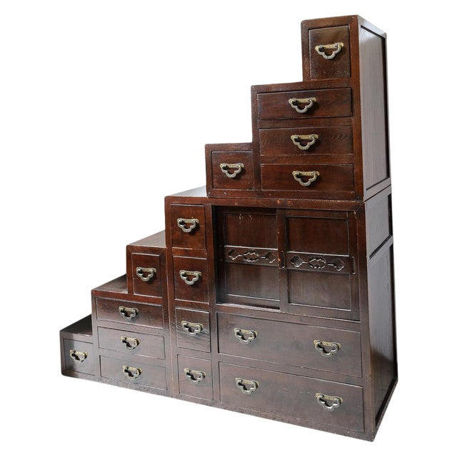 Japanese Step Chest For Sale