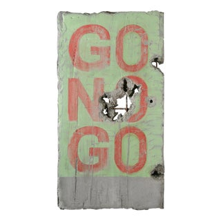 "Pierre Auville 'Äö""Go N' Go"", Mixed Media For Sale"
