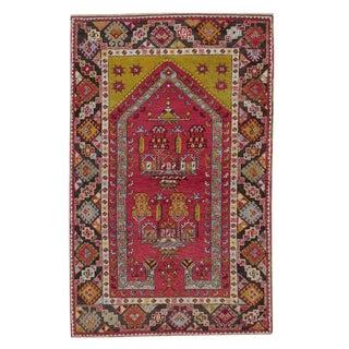 Antique Kirsehir Prayer Rug For Sale