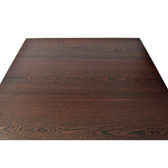 Spencer Fung Custom Wenge Wood Coffee Table - Image 4 of 9