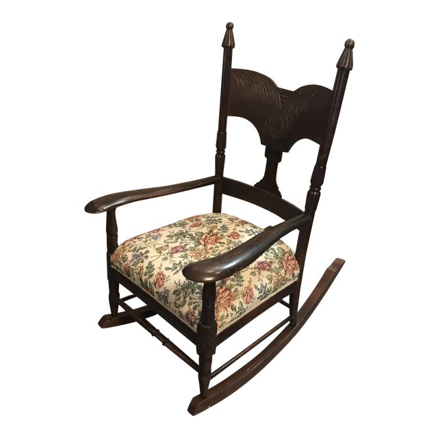 how to reupholster rocking chair seat expert blog. Black Bedroom Furniture Sets. Home Design Ideas