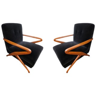 Armchairs Attributed to Carlo De Carli - a Pair For Sale