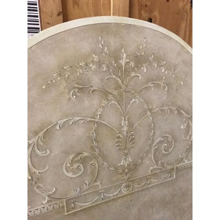 Traditional Queen Handpainted Headboard Preview