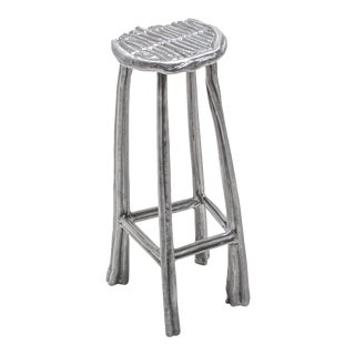 Aluminum Cast Bar Stool T-009 by Nicolas Erauw For Sale