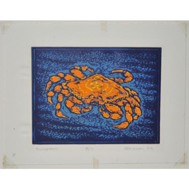 """Circa 2003 Arnold Grossman """"Dungeness"""" Silkscreen - Image 2 of 7"""