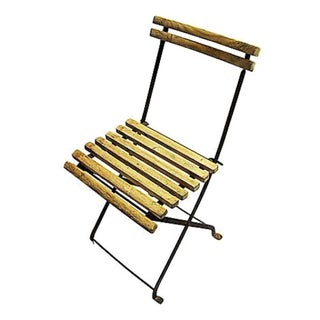 19th Century French Folding Chair For Sale