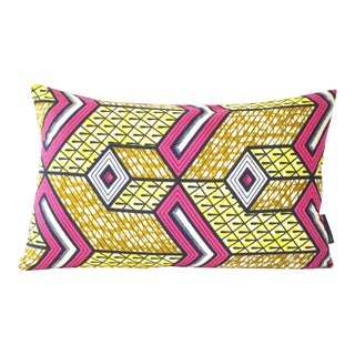 Lubumbashi Wax Print Pillow Cover For Sale