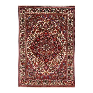 Vintage Persian Bakhtiari Rug with Modern Traditional Style For Sale