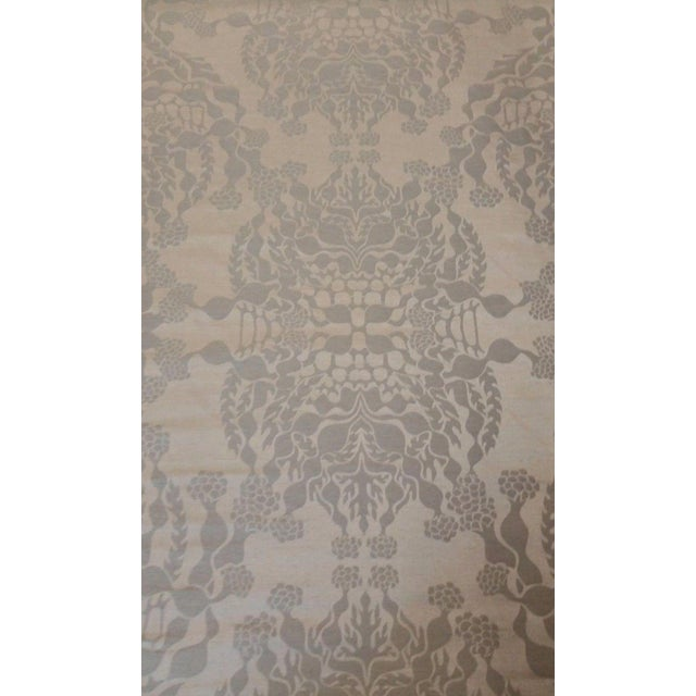 Knoll Luxe Mepal Damask Fabric - 2.6 Yards For Sale