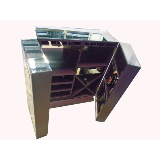 Mirrored Wine Bar Cabinet - Image 8 of 11
