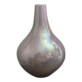 Violet / Amethyst Luster Ceramic Vase
