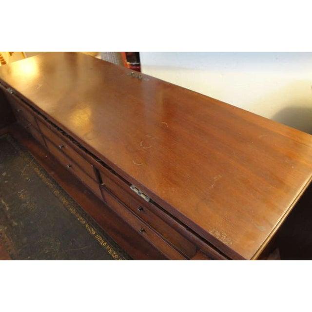 George II Style Mahogany Desk - Image 7 of 8