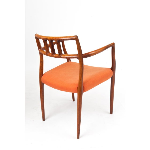 1960s 1960s Danish Modern Niels Otto Møller Teak Armchair For Sale - Image 5 of 7