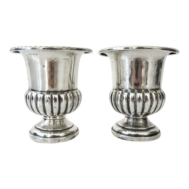 M.Fred Hirsch Sterling Silver Toothpick Holders/Candle Holders - Image 1 of 4