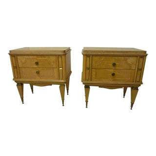 Andre Arbus Style Bedside Chests - A Pair