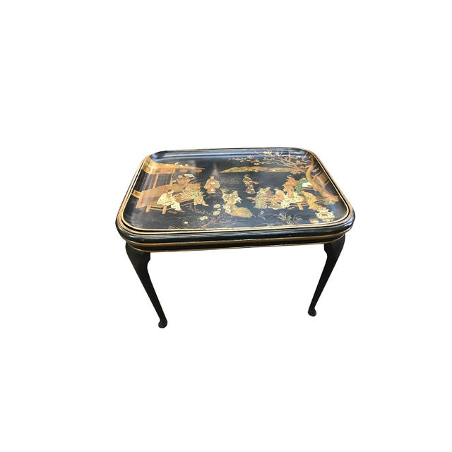 19th Century Chinoiserie Tea Table For Sale In Dallas - Image 6 of 7