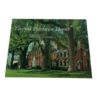 Virginia Plantation Homes Hardcover Book For Sale