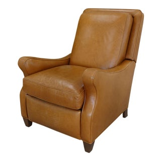 Hancock & Moore Leather Recliner/Lounger Chair For Sale