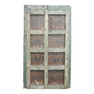 Orissa Tribal Double Door For Sale