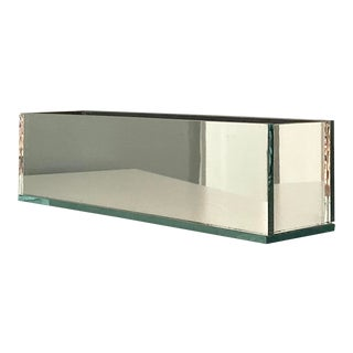 Vintage Mirrored Planter Box For Sale