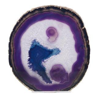 Curated Kravet Jau Sculpture, Purple For Sale