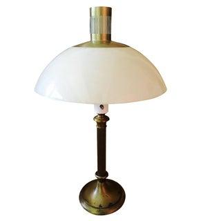 Lightolier Mushroom Resin Lamp For Sale