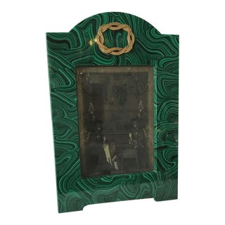 Faux Malachite Picture Frame For Sale