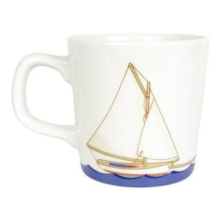 Tiffany & Co. Seashore Nautical Mug With Sailboat For Sale