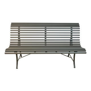 Fermob Louisiane Steel Metal Bench For Sale