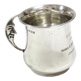 Vintage Sterling Silver Presentation Youth Mug For Sale