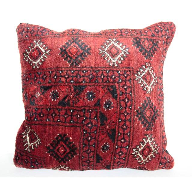Home Decor Vintage Carpet Pillow For Sale - Image 9 of 9