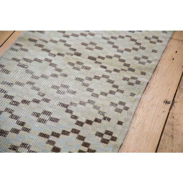 """Islamic Vintage Distressed Oushak Runner - 1'10"""" X 5'9"""" For Sale - Image 3 of 6"""
