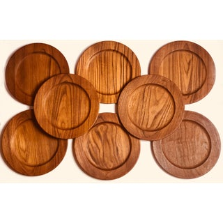 1950s Mid-Century Kay Bojesen Teak Serving Dishes - Set of 8 Preview