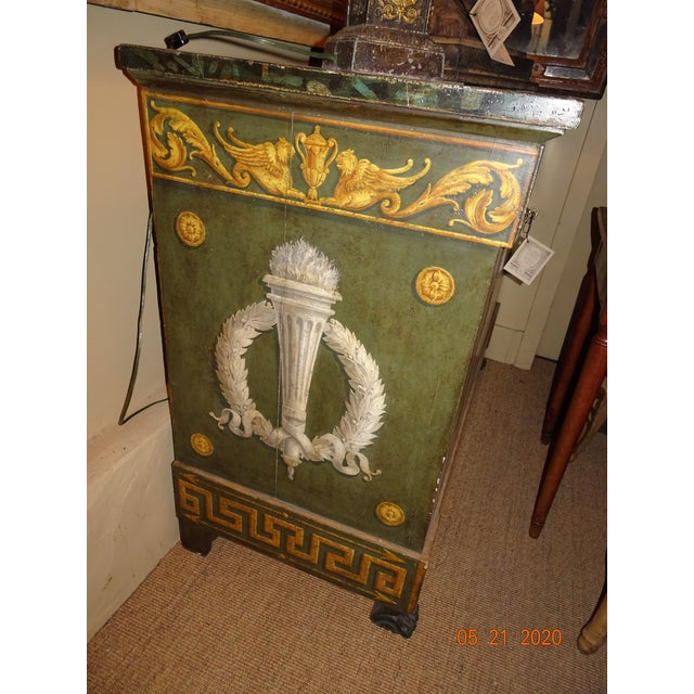 Early 20th Century 20th Century Italian Empire Commode For Sale - Image 5 of 12
