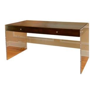 Arthur Lucite Desk For Sale