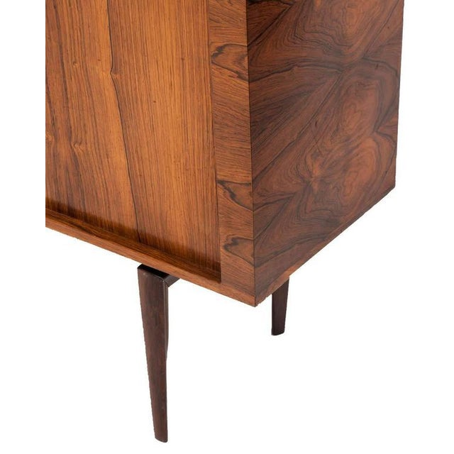 Wood H.W. Klein Rosewood Tamboured Door Console For Sale - Image 7 of 8